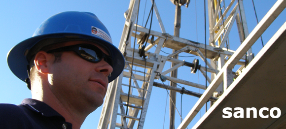 Rich Green is the majestic 64 driller for Sanco Operating Company